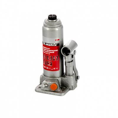 Домкрат гидравлический бутылочный, 2 т, h подъема 181–345 мм </div> <div class=