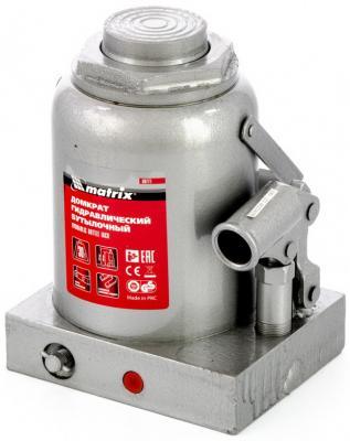 Домкрат гидравлический бутылочный, 30 т, h подъема 244–370 мм </div> <div class=