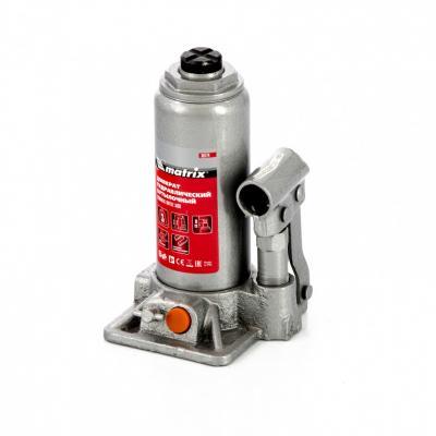 цена на Домкрат гидравлический бутылочный, 3 т, h подъема 178–343 мм, в пласт. кейсе// Matrix