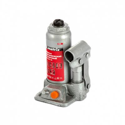 Домкрат гидравлический бутылочный, 2 т, h подъема 158–308 мм </div> <div class=