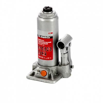 Домкрат гидравлический бутылочный, 4 т, h подъема 194–372 мм </div> <div class=