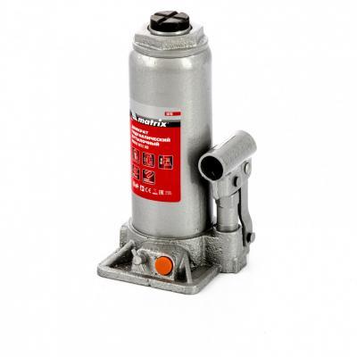 Домкрат гидравлический бутылочный, 8 т, h подъема 230–457 мм </div> <div class=