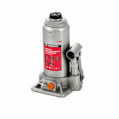 цена на Домкрат гидравлический бутылочный, 5 т, h подъема 197–382 мм, в пласт. кейсе// Matrix