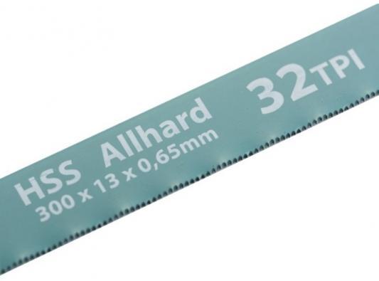 Полотна для ножовки по металлу, 300 мм, 32TPI, HSS, 2 шт.// Gross полотна для ножовки по металлу 300 мм шаг 1 мм 2 шт сибртех