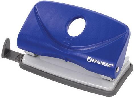 Фото - Дырокол BRAUBERG Original, до 10 листов, синий дырокол brauberg original до 25 листов blue 222543
