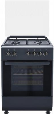 Газовая плита De Luxe 606040.24-004г(кр)чр антрацит