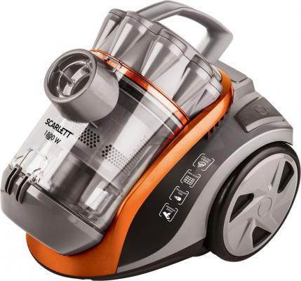 Пылесос Scarlett SC-VC80C60 1800Вт оранжевый/серый стоимость