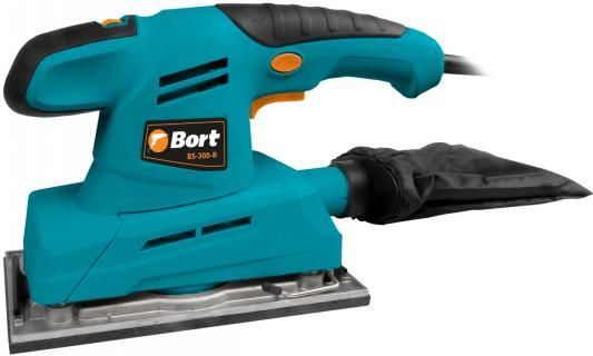 цена на Машина шлифовальная вибрационная Bort BS-300-R Размеры подошвы 115x230 мм; Размеры шлифовальной ленты 115x275 мм; Потребляемая мощность 300 Вт;