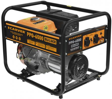 Генератор Carver PPG- 6500 BUILDER 9.6кВт