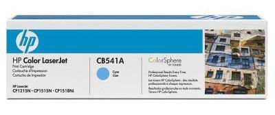 Тонер-картридж HP CB541A для CLJ CP1215/CP1515/CP1518 cyan (1 400 стр) тонер картридж hp lx610 cyan cn670a