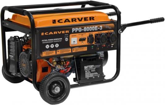 Генератор Carver PPG- 8000E-3 11.1кВт