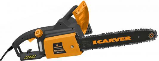 Электрическая цепная пила Carver RSE-2200М 2000Вт 2.7л.с. дл.шин.:16 (40cm) электрическая цепная пила husqvarna 420el 2000вт дл шин 16 40cm