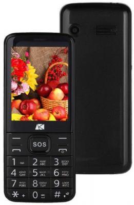 """Мобильный телефон ARK Power 4 черный 2.8"""" 32 Мб Bluetooth"""