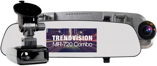 все цены на Видеорегистратор TrendVision MR-720 Combo черный 2304x1296 1296p 160гр. GPS Ambarella A7LA50