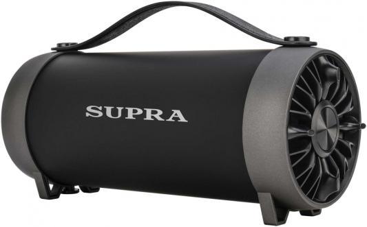 Аудиомагнитола Supra BTS-490 черный 11Вт/MP3/FM(dig)/USB/BT/microSD