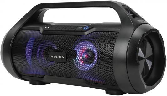 Аудиомагнитола Supra BTS-680 черный 50Вт/MP3/FM(dig)/USB/BT/microSD