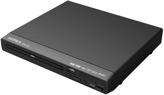Плеер DVD Supra DVS-11U черный ПДУ