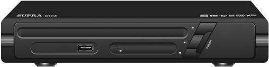 Плеер DVD Supra DVS-21U черный ПДУ