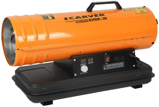 цена на Тепловая пушка Carver EHDK-30 30000 Вт вентилятор ТЭН обогрев ручка для переноски оранжевый чёрный