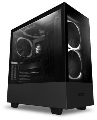 Корпус NZXT H510 Elite CA-H510B-W1 черный без БП ATX 1xUSB3.0 1xUSB3.1 audio bott PSU корпус atx miditower nzxt h500i smart ca h500w bl black blue