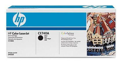 все цены на  Тонер-картридж HP CE740A черный для CLJ CP5225 (7 000 стр)  онлайн