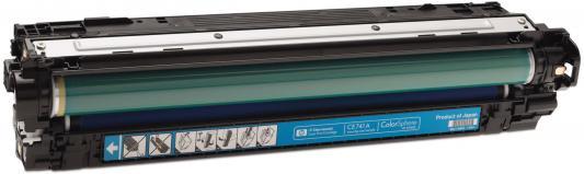Тонер-картридж HP CE741A голубой для CLJ CP5225 (7 300 стр) цена
