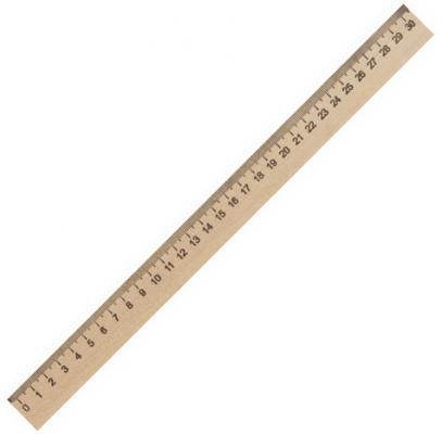 Фото - Линейка деревянная 30 см, ПИФАГОР, 210669 линейка деревянная 30 см пифагор 210669