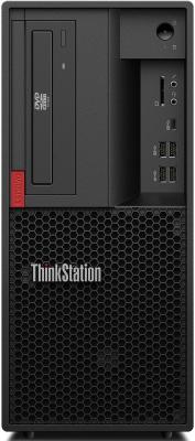 ПК Lenovo ThinkStation P330 MT i7 9700 (3)/16Gb/SSD256Gb/RTX4000 8Gb/DVDRW/CR/Windows 10 Professional 64/GbitEth/400W/клавиатура/мышь/черный цена и фото