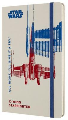Блокнот Moleskine LIMITED EDITION STAR WARS LESWD02QP060 Large 130х210мм 192стр. линейка твердая обложка белый