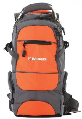 Городской рюкзак WENGER Narrow hiking pack 22 л комбинированный фото