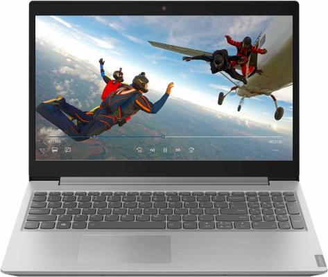 "Ноутбук Lenovo IdeaPad L340-15IWL Core i3 8145U/4Gb/1Tb/SSD128Gb/nVidia GeForce Mx110 2Gb/15.6""/TN/FHD (1920x1080)/noOS/grey/WiFi/BT/Cam ноутбук lenovo ideapad 110 15acl a4 7210 4gb 500gb rd r5 m430 2gb wifi bt 15 6"