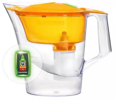 Фильтр-кувшин Барьер Чемпион Опти-Лайт В656Р00 (бодрящий лимон) фильтр кувшин барьер чемпион сочный апельсин опти лайт в654р00