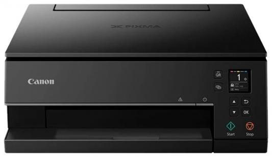 Фото - МФУ Canon PIXMA TS6340 black (струйный, принтер, сканер, копир, 4800dpi, Bluetooth, WiFi, AirPrint, duplex, Сенсорный дисплей) замена TS6240 мфу canon i sensys mf744cdw копир цветной принтер сканер dadf duplex 27стр мин 1200x1200dpi fax wifi lan a4 замена mf734cdw