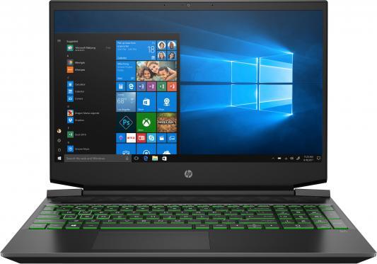 Ноутбук 15.6 IPS FHD HP Pavilion Gaming 15-ec0003ur black (AMD Ryzen 5 3550H/8GB/256Gb SSD/1050 3 Gb/DOS) (8KE04EA) ноутбук hp 15 bs151ur 3xy37ea