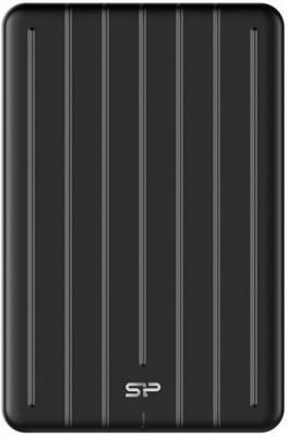 Фото - Твердотельный диск 2TB Silicon Power Bolt B75 Pro, External, Type-C [R/W - 520/420 MB/s] Алюминий/Черный внешний аккумулятор power bank 10000 мач pineng pn 993pk розовый qc 3 0 type c
