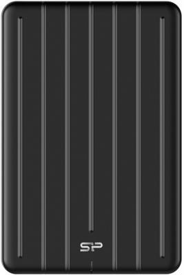 Фото - Твердотельный диск 1TB Silicon Power Bolt B75 Pro, External, Type-C [R/W - 520/420 MB/s] Алюминий/Черный электрокамин electrolux efp w 1200urls черный