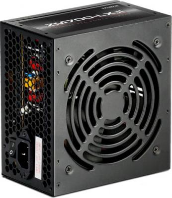 Блок питания Zalman ZM700-LXII <700W, (20+4+4+4) pin, 4x(6+2) pin, 6xSATA, 5xMolex, FDD, 14 см, кабель питания, 87%, Act блок питания zalman zm700 tx 700w