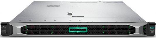 "Сервер HPE DL360 Gen10, 2x 5220 Xeon-G 18C 2.2GHz, 2x32GB-R DDR4, P408i-a/2GB (RAID 1+0/5/5+0/6/6+0/1+0 ADM) noHDD (8/10+1 SFF 2.5"" HP) 2x800W, 10/25GbE SFP28 FLR, noDVD, iLO5, Rack1U, 3-3-3"