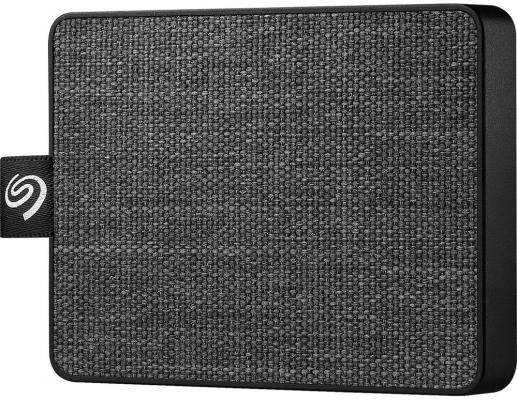 Фото - Накопитель на жестком магнитном диске Seagate Внешний твердотельный накопитель Seagate One Touch SSD STJE1000400 1Тб 2.5 USB 3.0 Black твердотельный накопитель ssd transcend esd230c 240gb