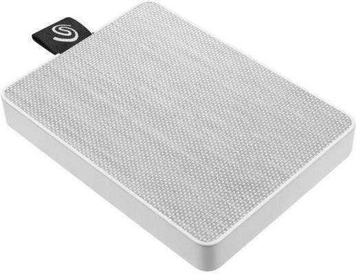 Фото - Накопитель на жестком магнитном диске Seagate Внешний твердотельный накопитель Seagate One Touch SSD STJE1000402 1Тб 2.5 USB 3.0 White твердотельный накопитель ssd transcend esd230c 240gb