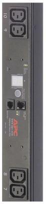 лучшая цена Блок распределения питания APC Rack PDU, Metered, Zero U, 10A, 230V, (16) C13