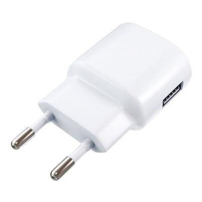 Фото - Сетевое зарядное устройство Red Line ТС-1A USB 1A белый (453431) сетевое зарядное устройство continent zn10 194rd 1a usb красный