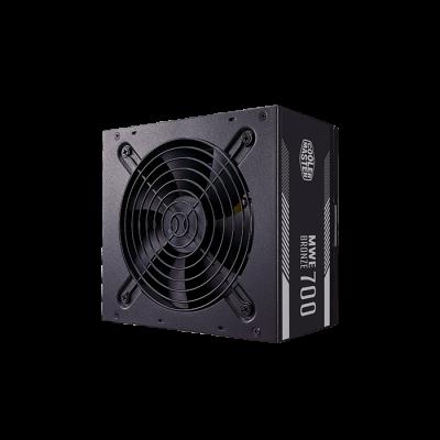 Power Supply Cooler Master MWE Bronze, 700W, ATX, 120mm, 8xSATA, 4xPCI-E(6+2), APFC, 80+ Bronze блок питания formula atx 450w formula ap450 80 80 bronze 24 4 4pin apfc 120mm fan 7xsata rtl