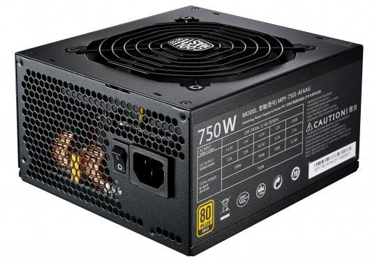 БП ATX 750 Вт Cooler Master MWE Gold 750 Full Modular (MPY-7501-AFAAG-EU) бп flex atx 750 вт intel fxx750pcrps 915604