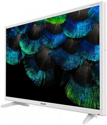 Фото - Телевизор Sharp LC32HI3222EW белый телевизор sharp 32cb3e 32 черный