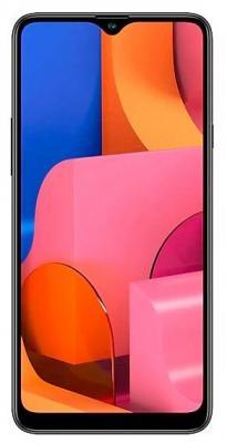 Смартфон Samsung Galaxy A20S 2019 32 Гб черный (SM-A207FZKDSER) смартфон samsung galaxy j1 2016 8 гб черный sm j120fzkdser