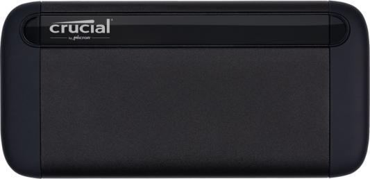 Фото - Crucial 500GB SSD X8 Portable USB 3.1 Gen-2 Up to 1050MB/s Sequential Read накопитель ssd kingston suv500 1920g 1920gb 2 5 uv500 series sata3 up to 520 500mbs 85000 iops 3d tlc marvell 88ss1074 aes256 7mm
