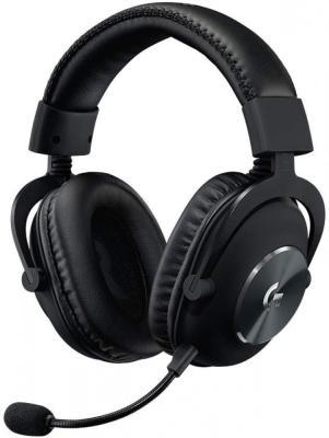 лучшая цена Игровая гарнитура проводная Logitech G PRO X Gaming Headset черный (981-000818)