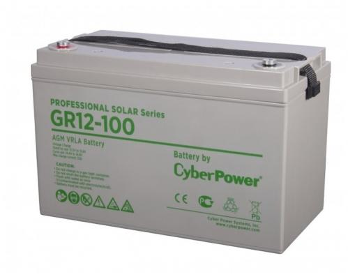 Battery CyberPower Professional solar series (gel) GR 12-100 / 12V 100 Ah