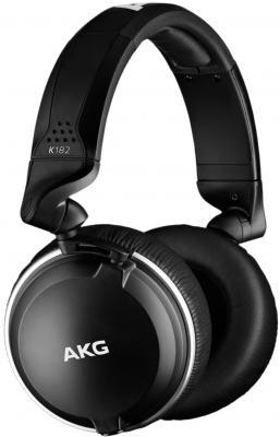 Наушники AKG Наушники AKG K182 , черный все цены